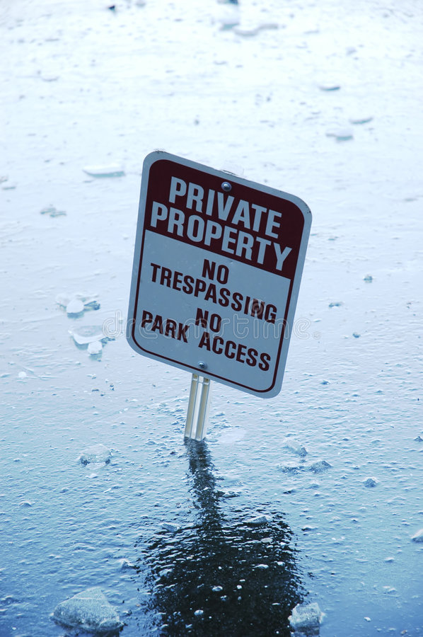 Download Private Property stock photo. Image of keep, trespass - 4181980