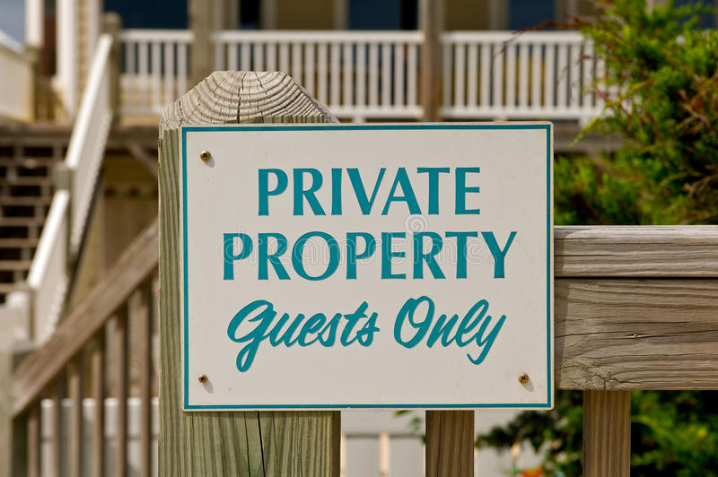 Download Private Property Sign. Royalty Free Stock Images - Image: 20951589