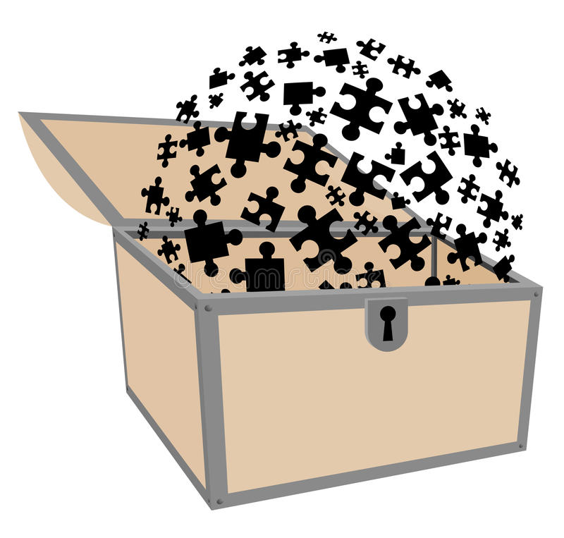 Private Puzzle Stock Images