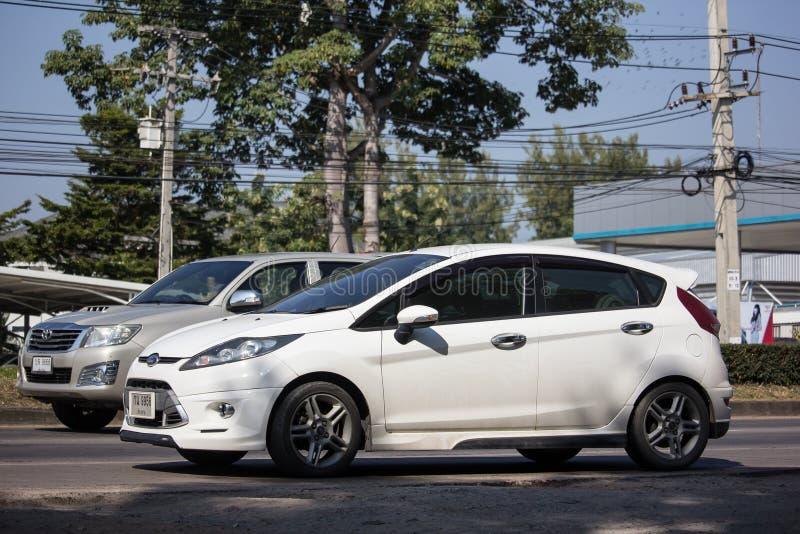 Private Sedan Car Ford Fiesta American motors Car royalty free stock photography