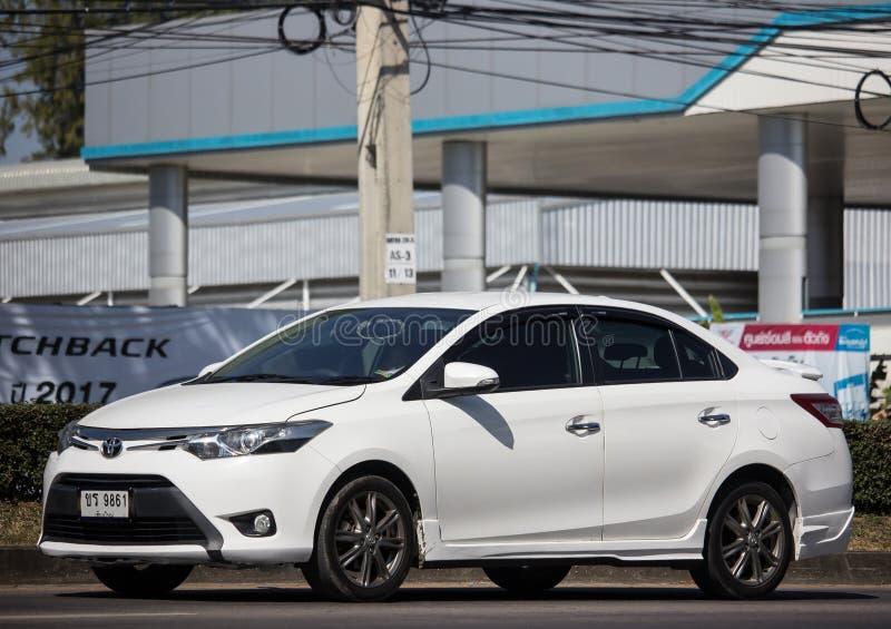 Private Sedan car Toyota Vios stock photo