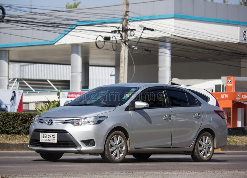 Private Sedan car Toyota Vios royalty free stock image