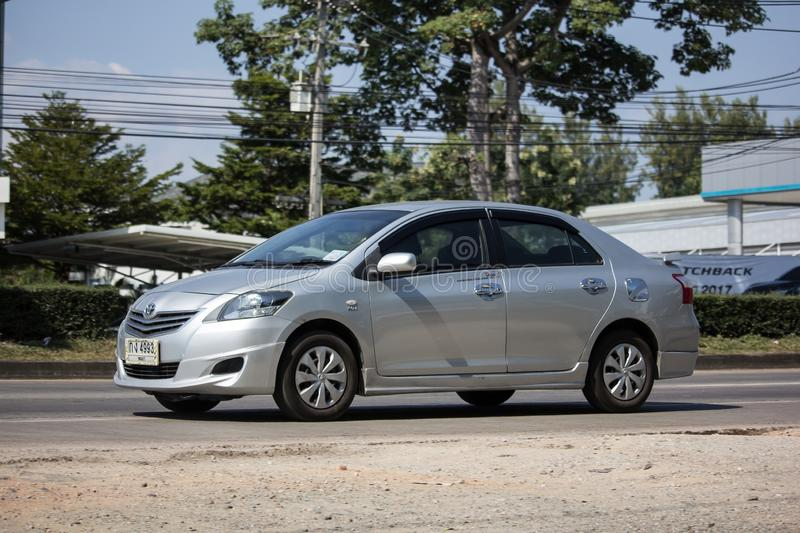 Private Sedan car Toyota Vios royalty free stock photo