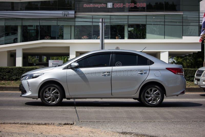 Private Sedan car Toyota Vios royalty free stock photos