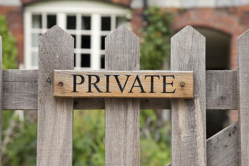 Download Private Sign stock photo. Image of warning, architecture - 28410168