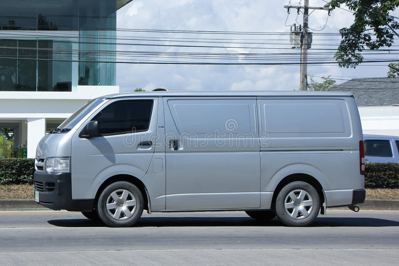 Download Private Toyota Cargo Van Editorial Photo Image Of Industry