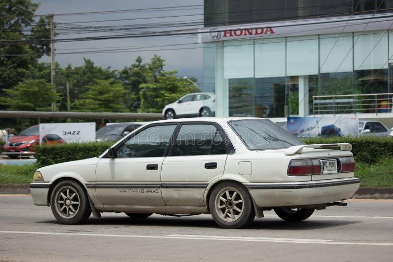 Download Privates Altes Auto, Toyota Corolla Redaktionelles Stockbild - Bild von leistung, straße: 96935084