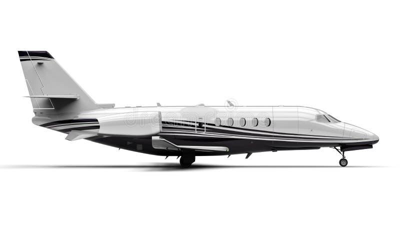 Privates Düsenflugzeug vektor abbildung
