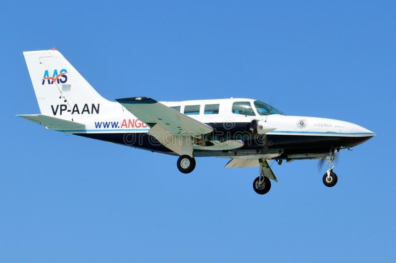 Privates Flugzeug stockfotografie