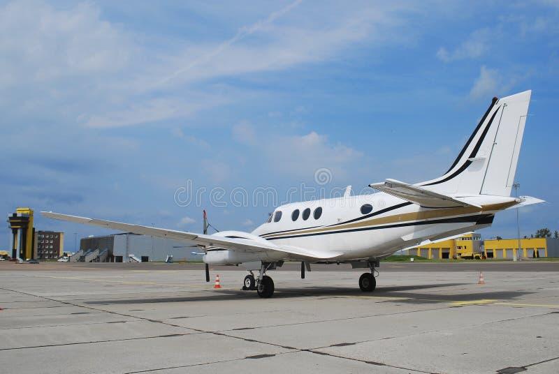 Privates Flugzeug lizenzfreie stockfotos