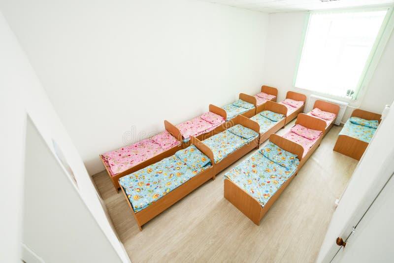 Privates Kindergartenschlafzimmer lizenzfreie stockbilder