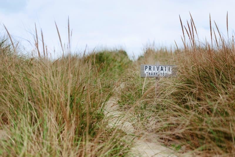Privates Strand-Eigentum, Nantucket stockbilder