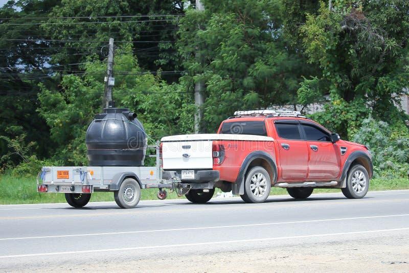 Privatkleinlastwagen, Ford Ranger Mit Anhänger Redaktionelles ...