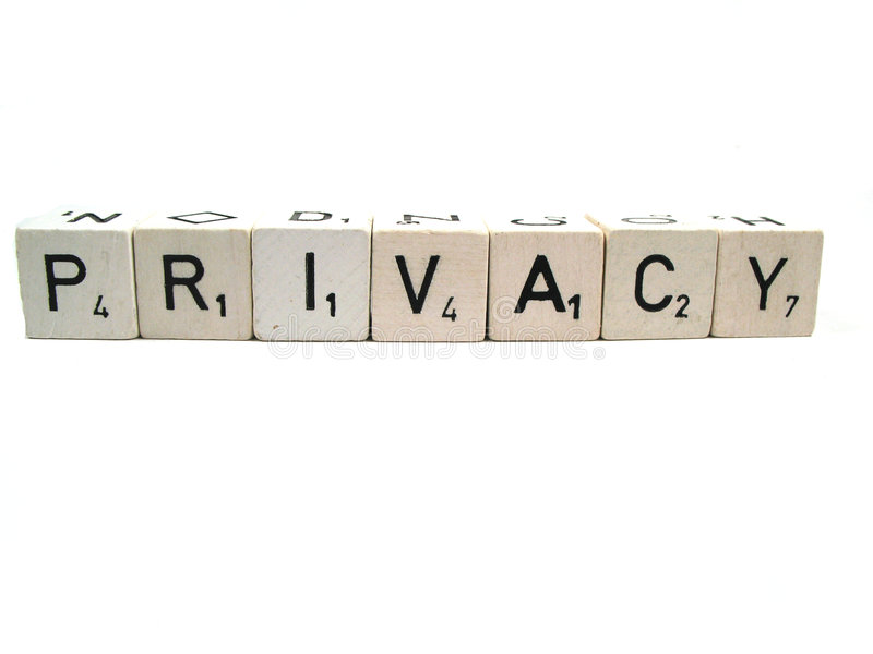Privatleben stockbild