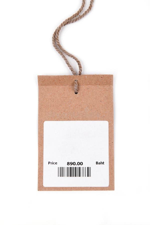 Prix à payer avec code barres photos stock
