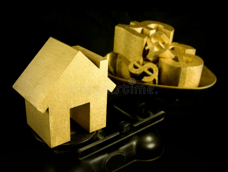 Prix de logements photos stock