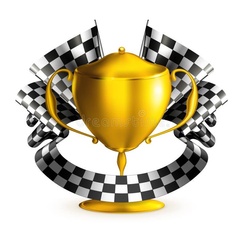 Prize Rennen lizenzfreie abbildung