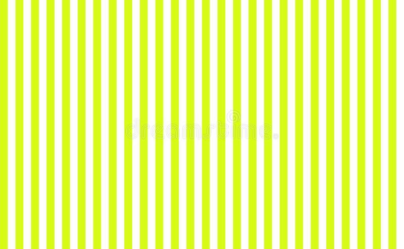 Prości zieleni i białych pionowo bezszwowi lampasy ilustracji