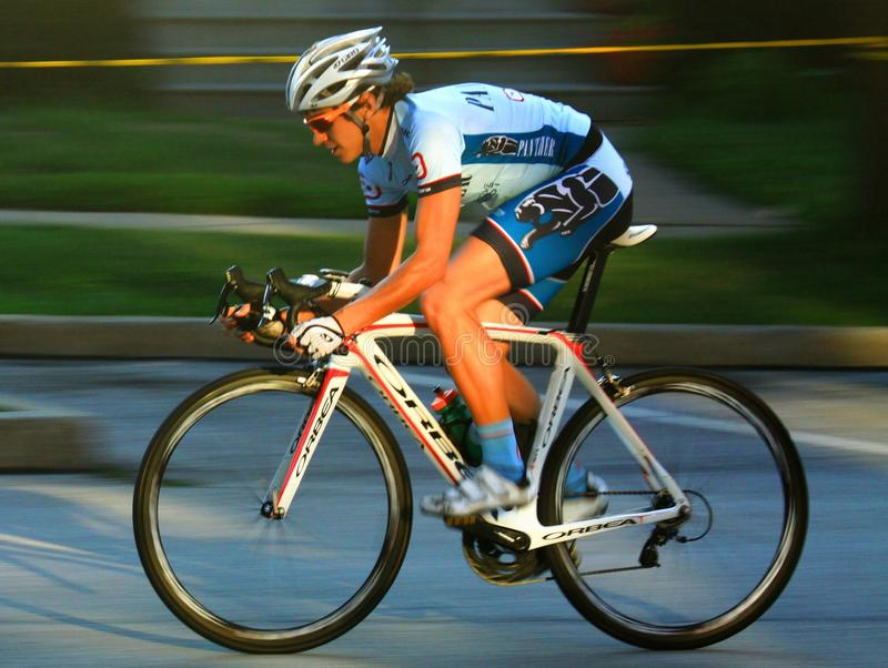 Pro велосипедист стоковое фото rf