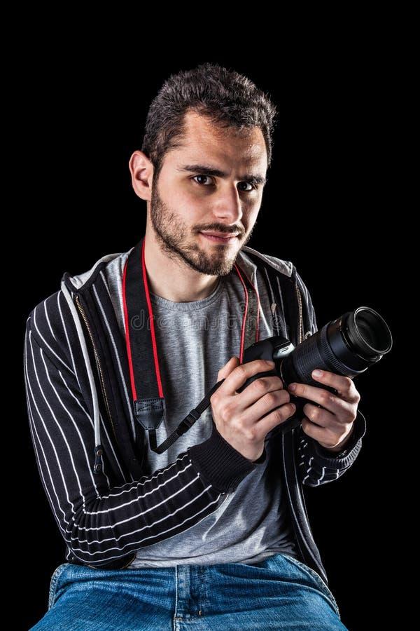 Pro фотограф стоковые изображения rf