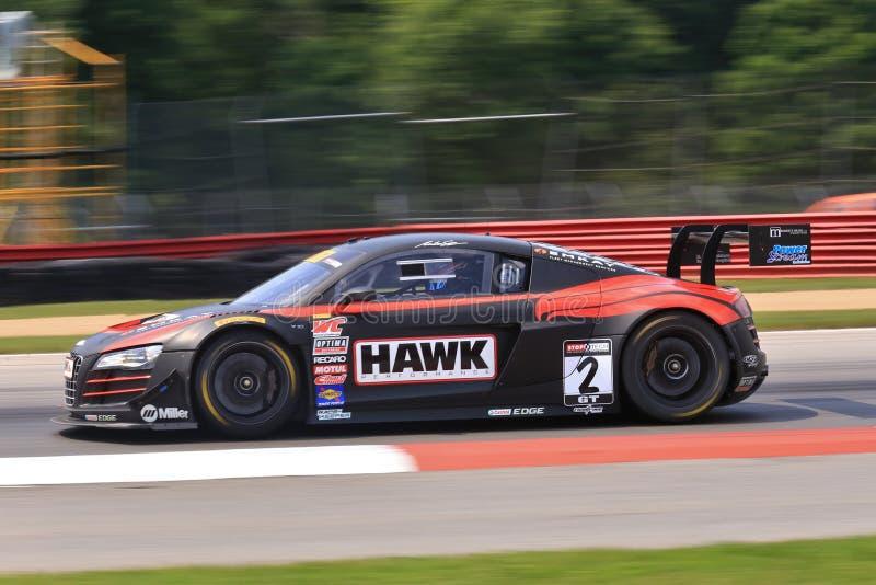Pro Audi race stock photography