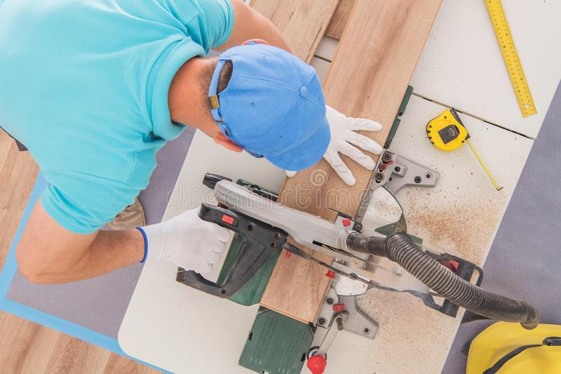 Pro Construction Worker stock image