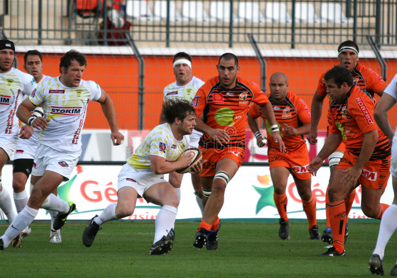 Pro D2 rugby match RCNM vs Stade Montois
