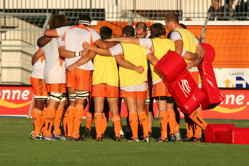 Download Pro D2 Rugby Match RCNM Vs Stade Montois Editorial Photo - Image of geste, stade: 11331301