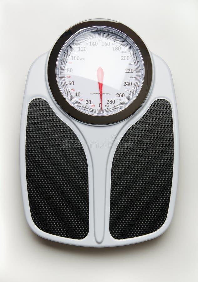 Pro escala do peso fotografia de stock