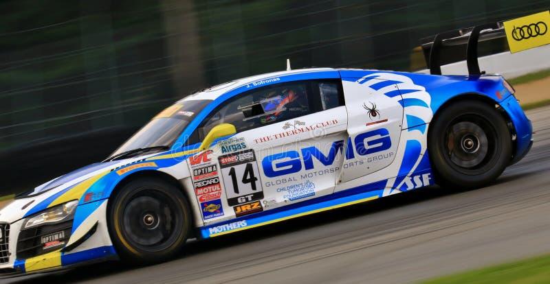 Pro evento da raça de Audi foto de stock royalty free