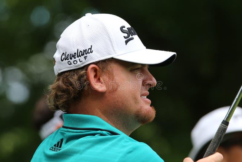 Pro-golfare JB Holmes arkivfoto