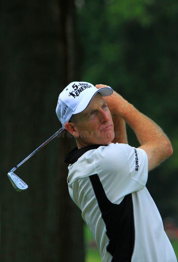 Pro golfer Jim Furyk royalty free stock image