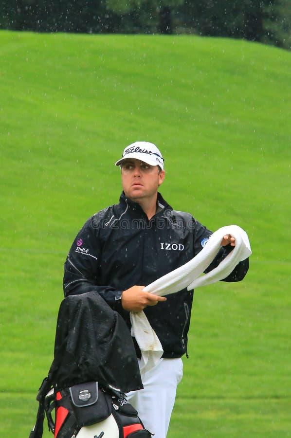 Pro jogador de golfe BO Van Pelt foto de stock