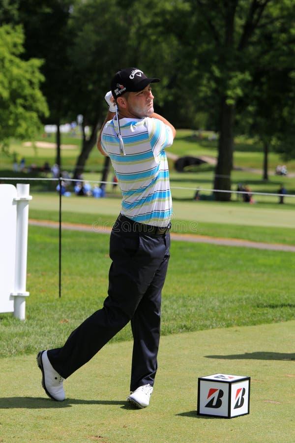 Pro-Matt Every utslagsplatsskott för PGA royaltyfri fotografi