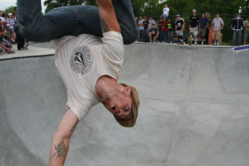 Pro patineur : Colombe de Matt image libre de droits