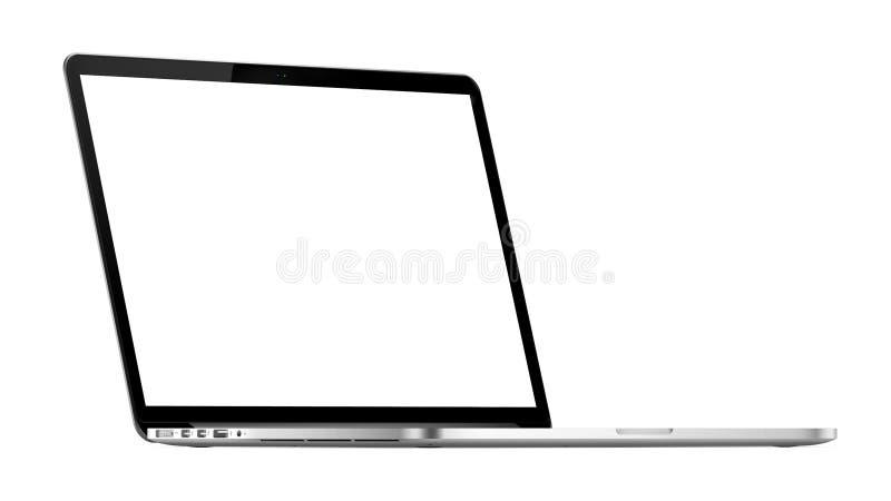 Pro rétine d'Apple Macbook illustration stock