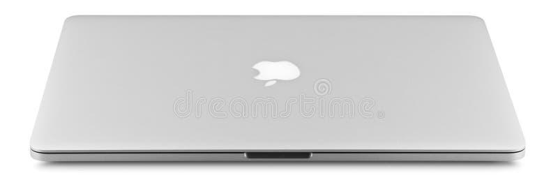 Pro retina de Aplle Macbook foto de stock