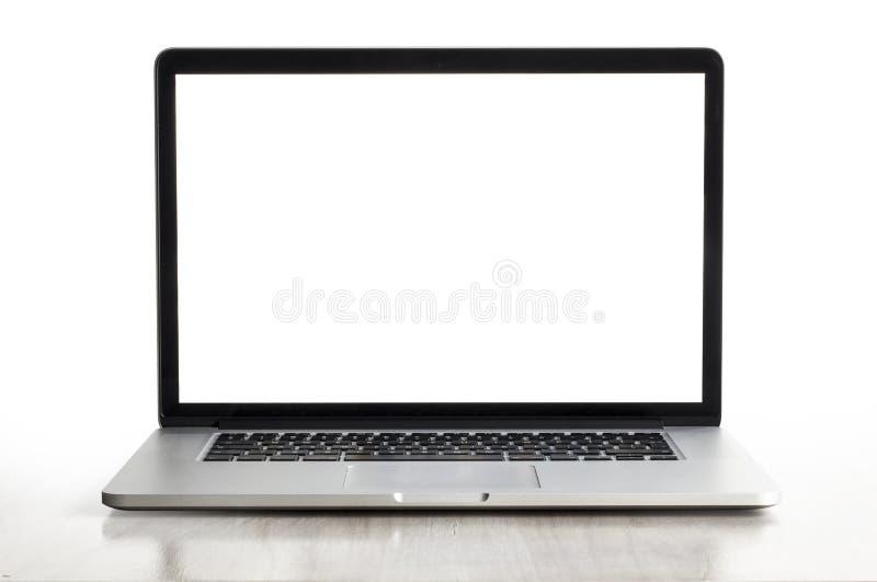 Pro retina de Macbook foto de stock