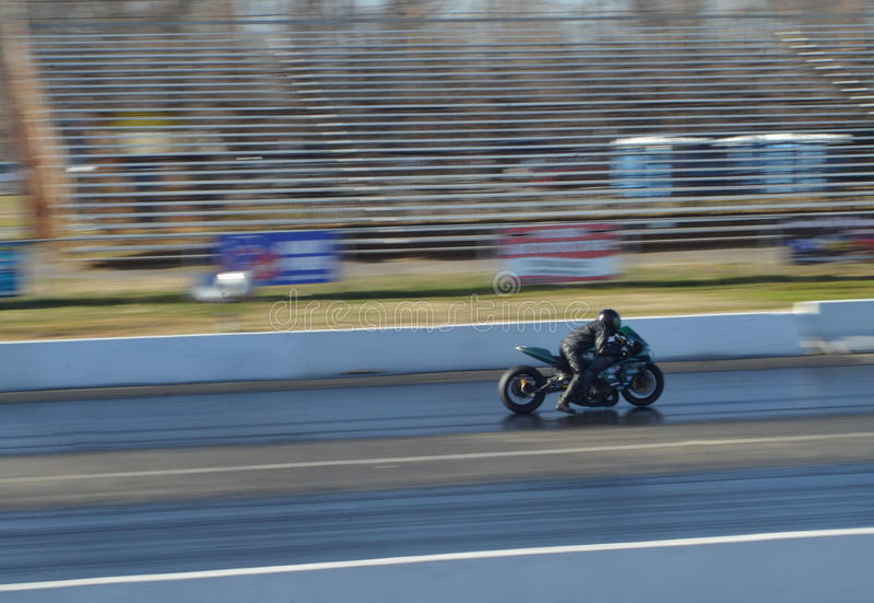 Pro Stock Motorcycle royalty free stock photos