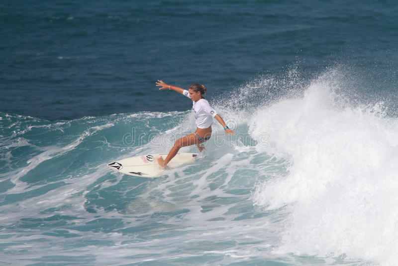 Pro Surfer Quincy Davis Editorial Image