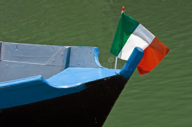 Proa del barco. fotografía de archivo