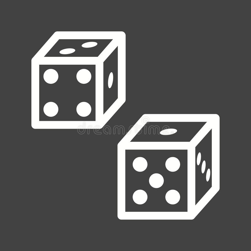 Probability. Statistics, probability, analysis icon image. Can also be used for Math Symbols. Suitable for use on web apps, mobile apps and print media royalty free illustration