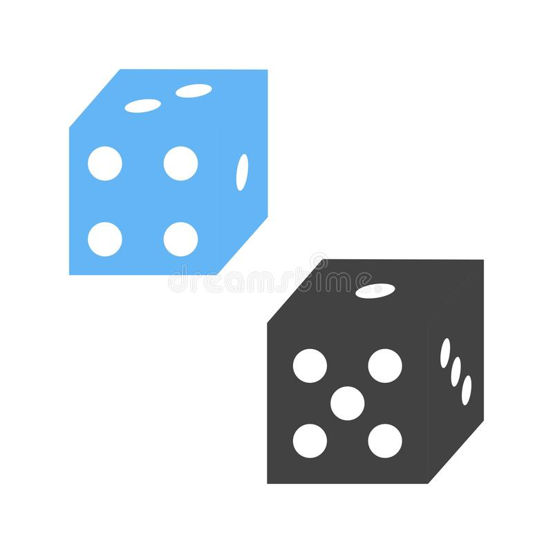 Probability. Statistics, probability, analysis icon vector image. Can also be used for Math Symbols. Suitable for use on web apps, mobile apps and print media stock illustration