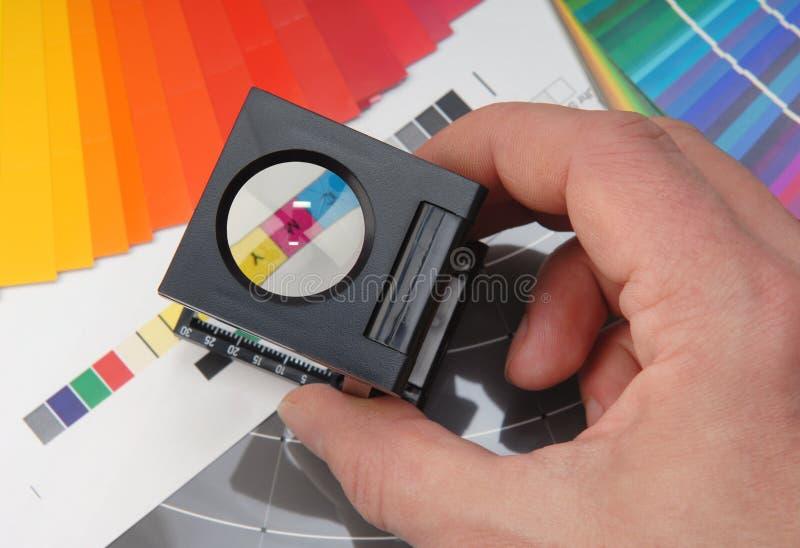 Probador de lino imagen de archivo libre de regalías