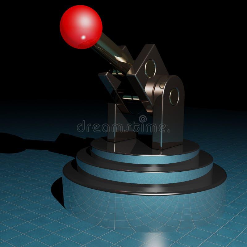 The probe vector illustration