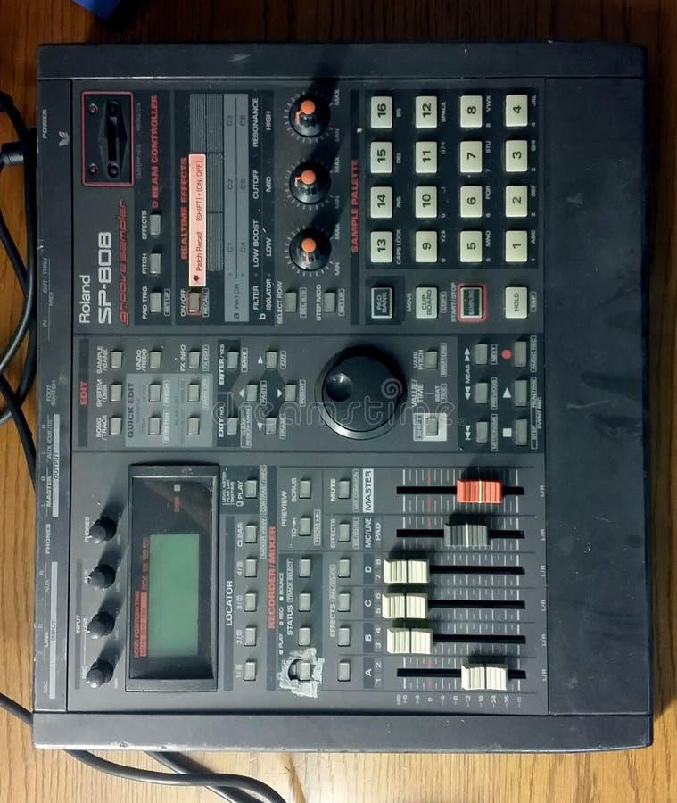 Probenehmer Roland SP 808 lizenzfreies stockbild