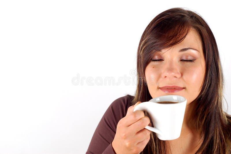Probierenkaffee lizenzfreie stockfotografie