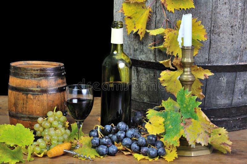 Probierenwein fünf stockbild