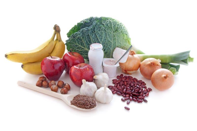 Probiotic (prebiotic) voedseldieet stock afbeeldingen