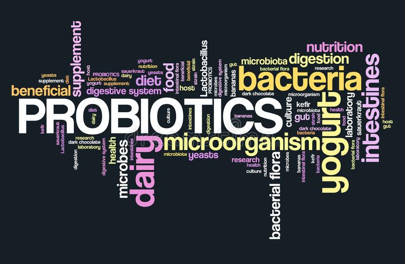 Probiotici illustrazione vettoriale